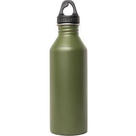 MIZU M8 Bottle with Black Loop Cap 800ml enduro army